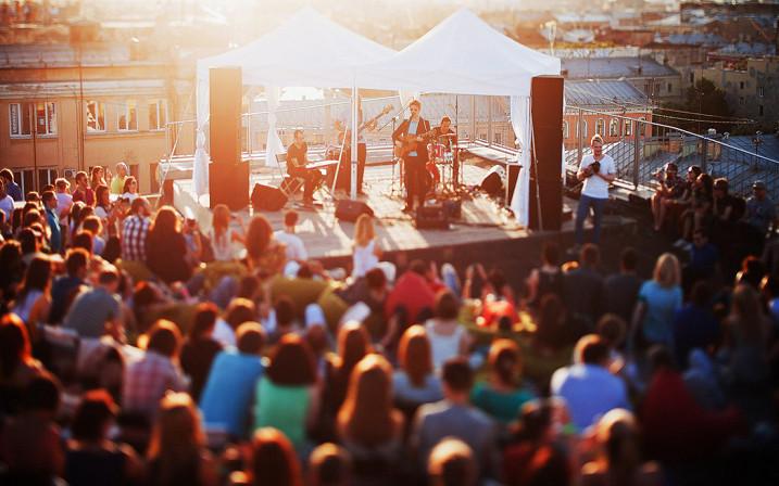 Музыкальный фестиваль в Исландии