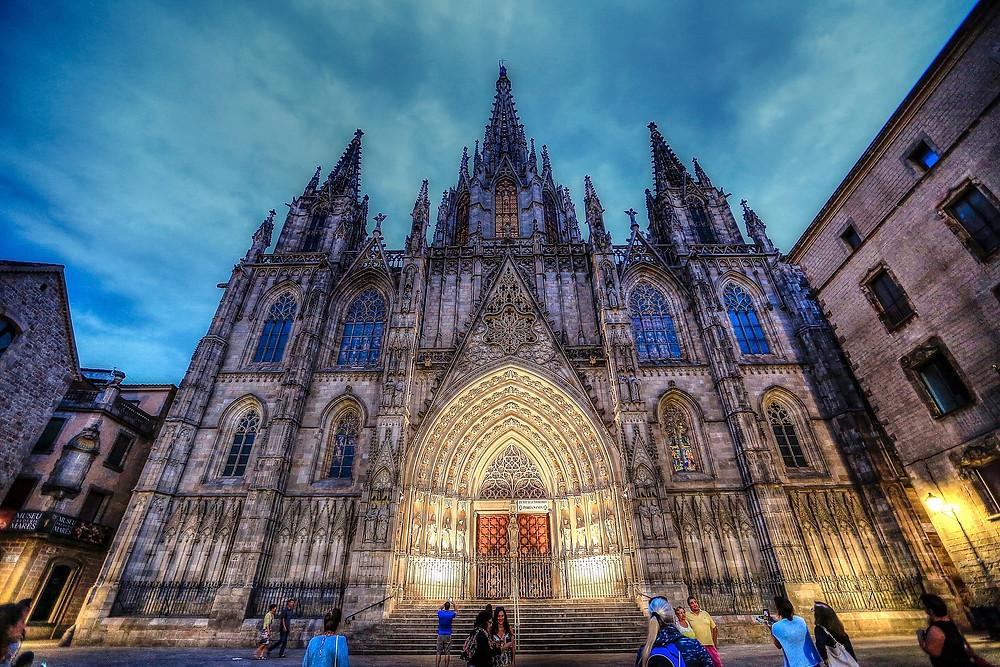 Собор Святого Креста и Святой Евлампии, Барселона, Испания