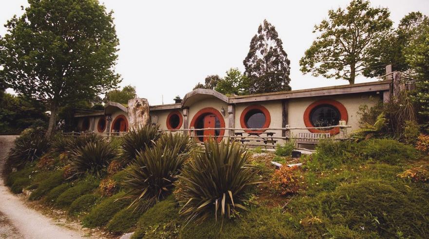 Hobbit Motel, Новая Зеландия