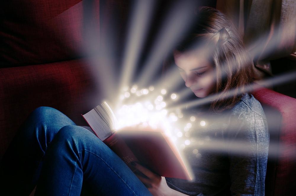 Работа воображения во время чтения