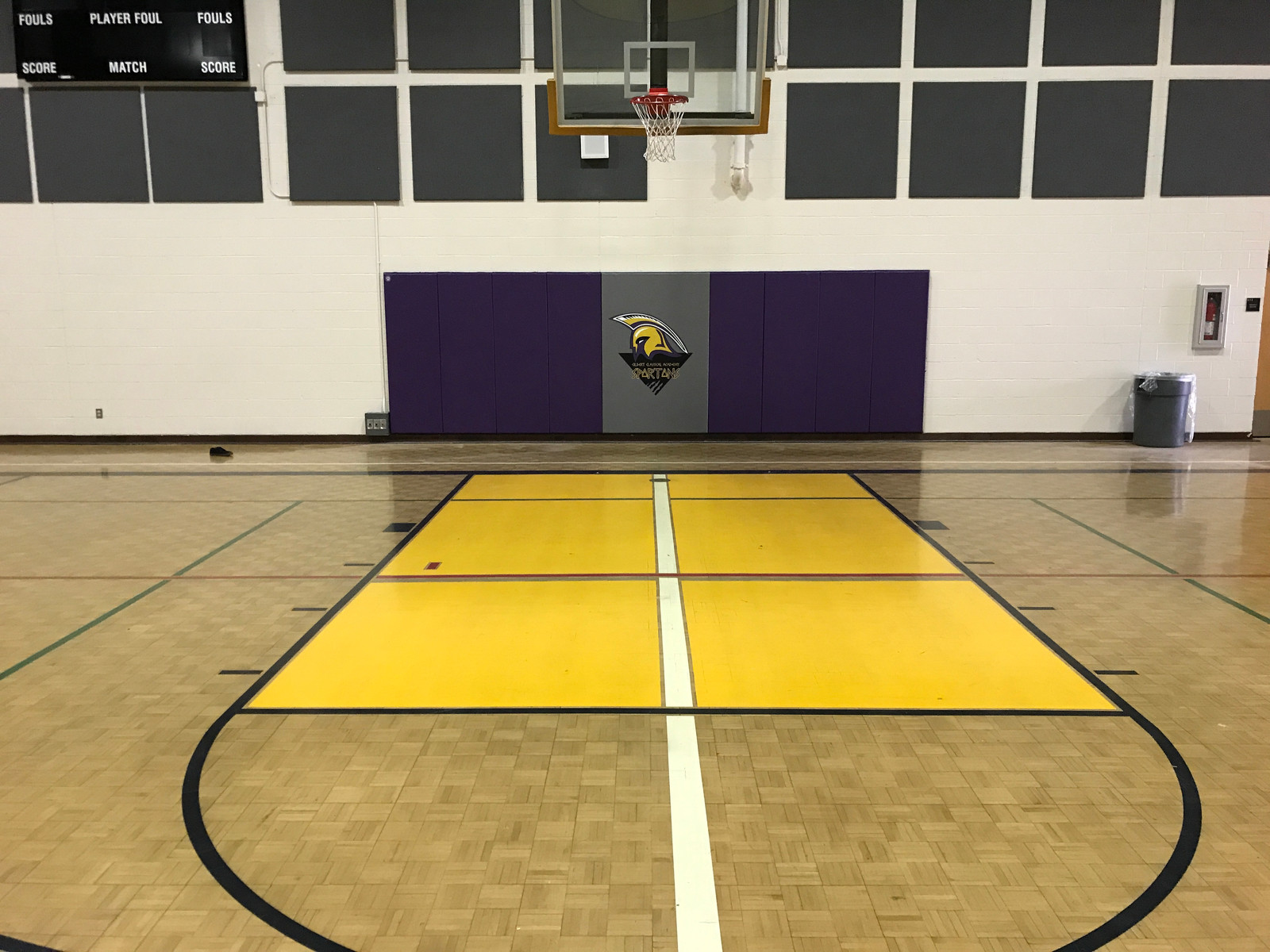 Gym Wall Padding Wrestling Mats Sideline Chairs