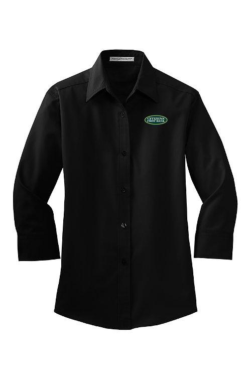 Ladies 3/4-Sleeve Easy Care Shirt