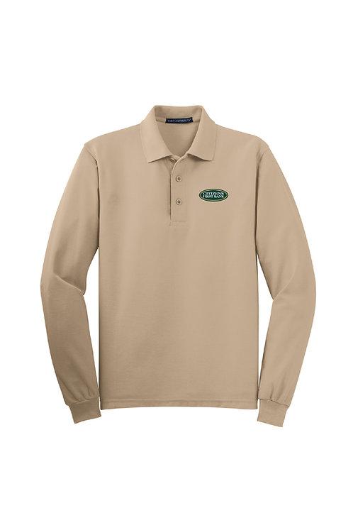 Men's Silk Touch Long Sleeve Polo