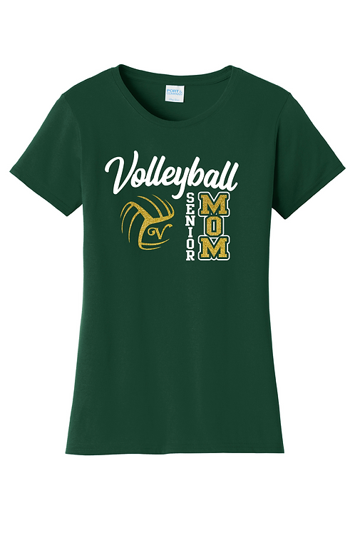 Ladies Heavy Cotton Tee (Volleyball)
