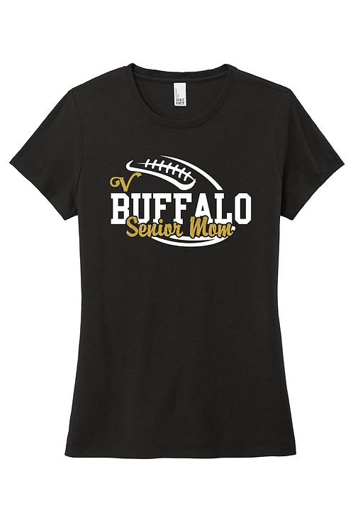 Ladies Soft-Style Tee (Football)
