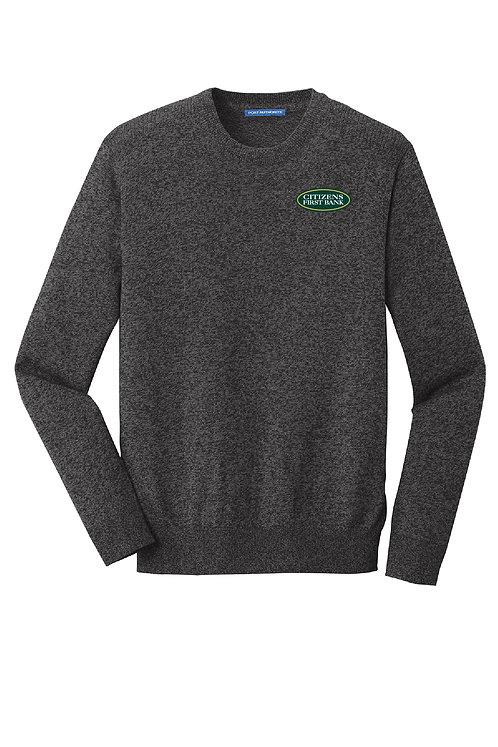 Men's Marled Crew Sweater