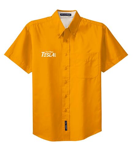 Men's Button Polo (Colors A-M)