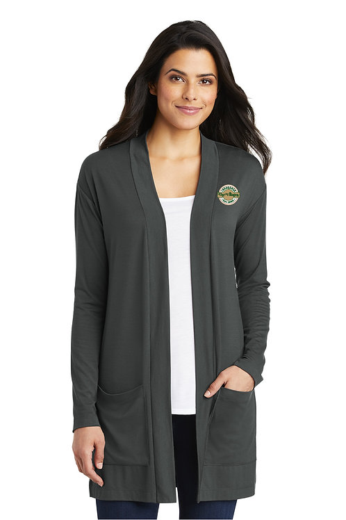 Ladies Pocket Cardigan