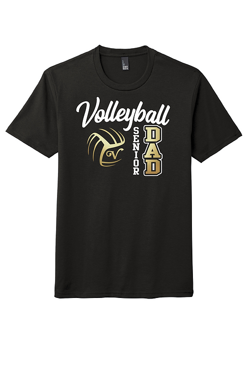 Unisex Soft-Style Tee (Volleyball)