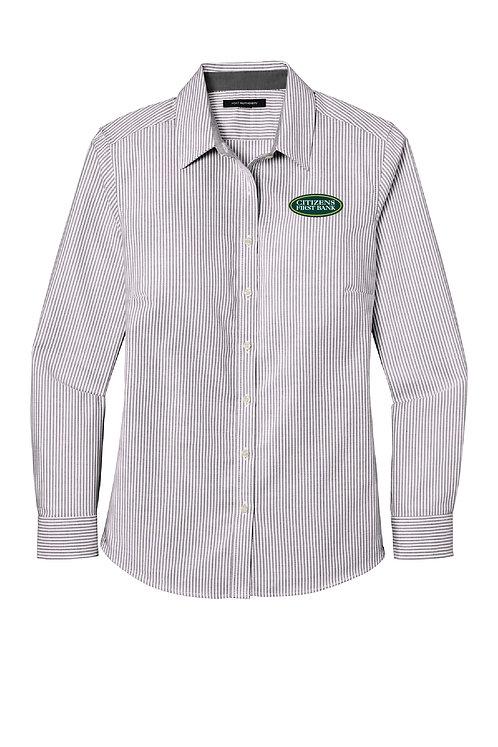 Ladies Oxford Stripe Shirt