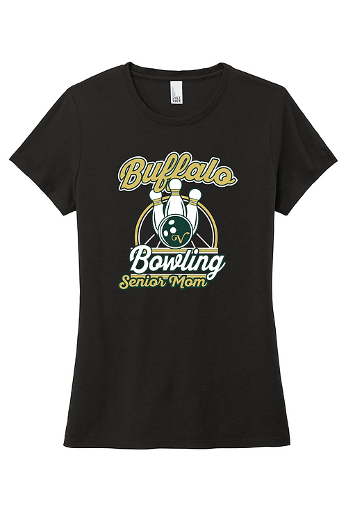 Ladies Soft-Style Tee (Bowling)