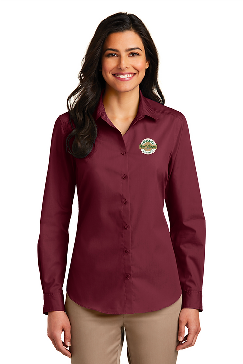 Ladies Button Shirt