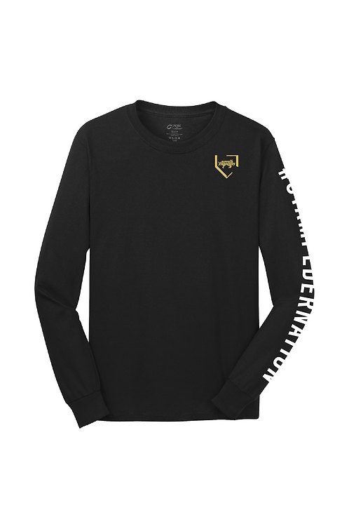 Youth Port & Company® Long Sleeve Core Cotton Tee