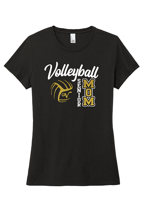 Ladies Soft-Style Tee (Volleyball)