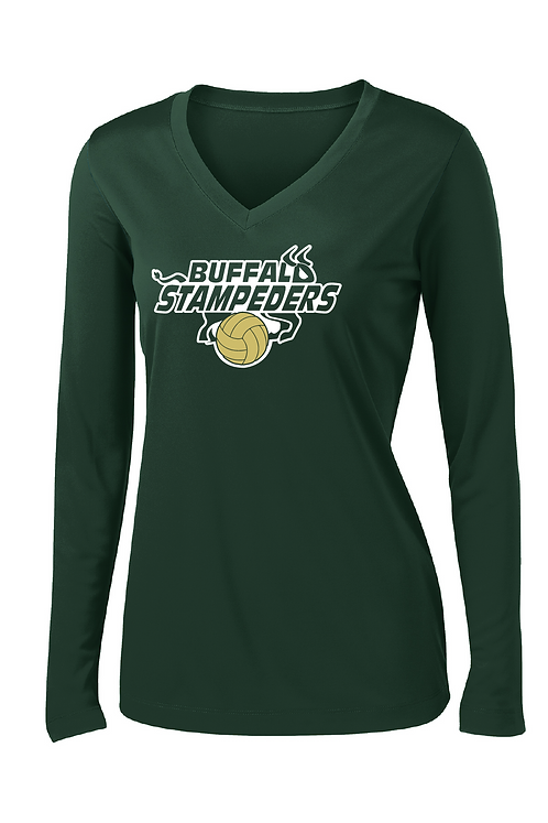 Ladies Long-Sleeve Dri-Fit Tee