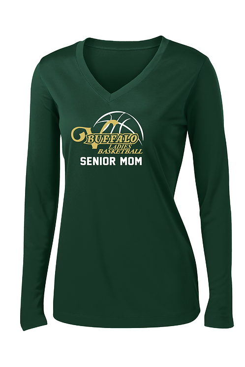 Ladies Performance Long Sleeve Tee (Ladies Basketball)
