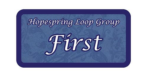 Hope Spring Loop Grove Name Tag