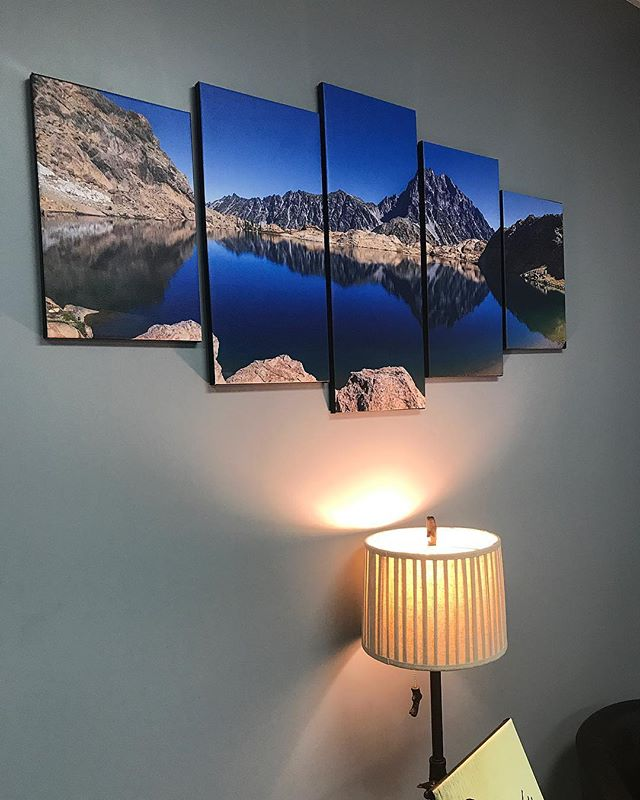Check out this custom canvas printing we just finished up and hung on the wall! Call us today for yo