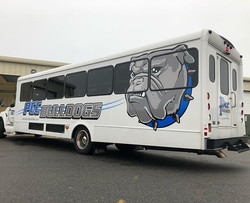 Just finished up on the PCC Bulldogs bus