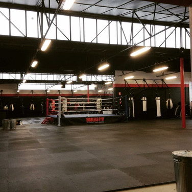 Riddlers Gym Fitout