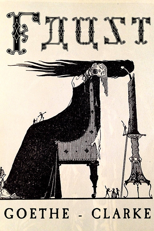 """Faust,"" Goethe, Harry Clarke, Illustrator"