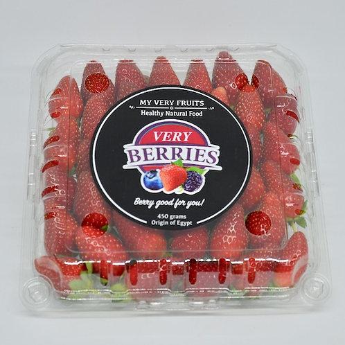 Very Berries Premium Strawberries 450 grams