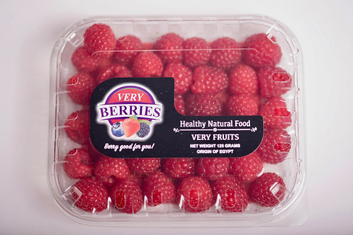 Very Raspberries 125 grams