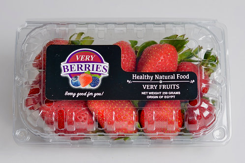 Very Berries Premium Strawberries 250 Grams