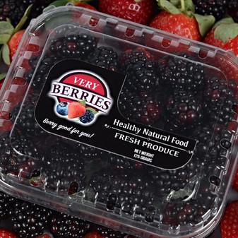 Very Blackberries 125 Grams Bonnet