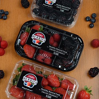 berries packaging