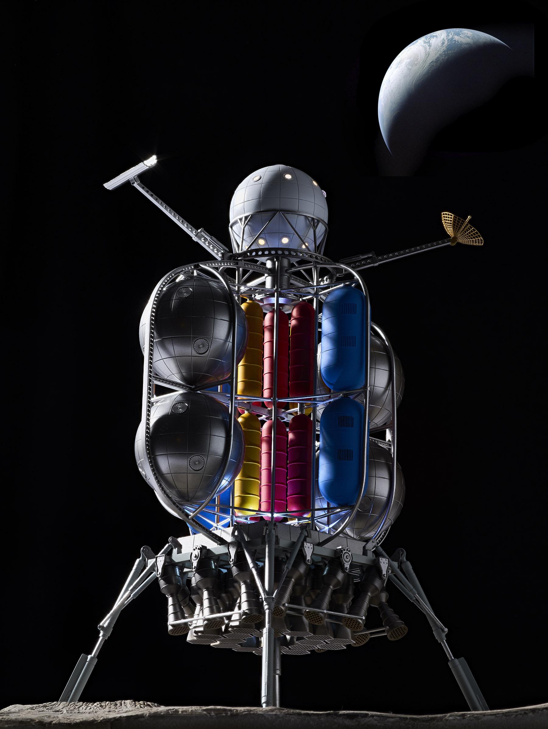 1/350 Von Braun Moonlander