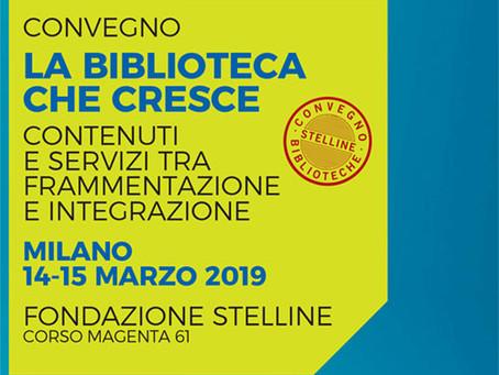 Convegno delle Stelline 2019. La biblioteca che cresce.