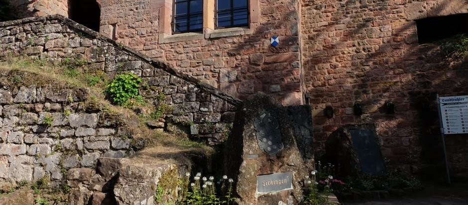 Burg Nanstein, Castle Ruins