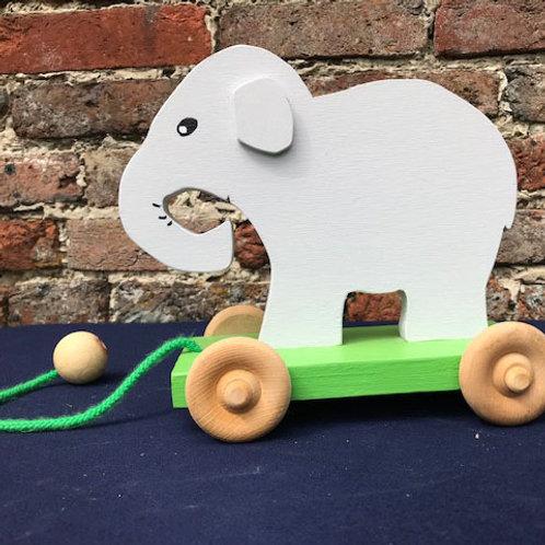 Pull Along Elephant