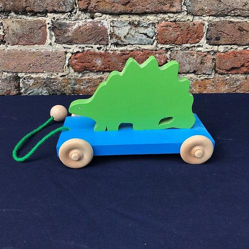 Pull Along Dinosaur - Brontosaurus