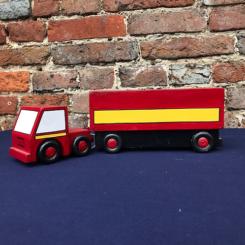 Articulated Covered Lorry