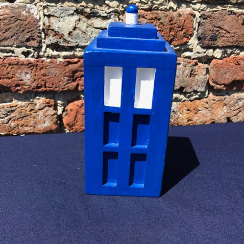 Solid Wooden Police Box