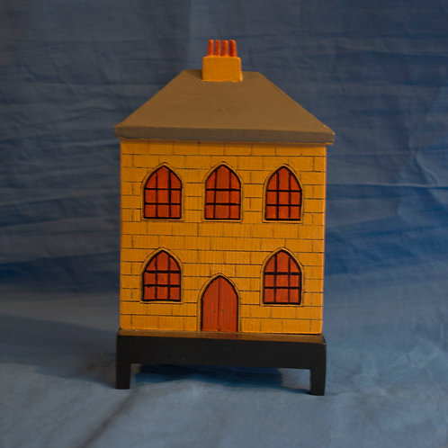 Miniature solid house c.1840