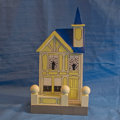 Miniature solid house c.1900