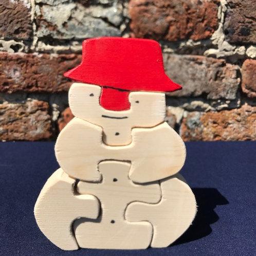 Xmas Snowman Puzzle