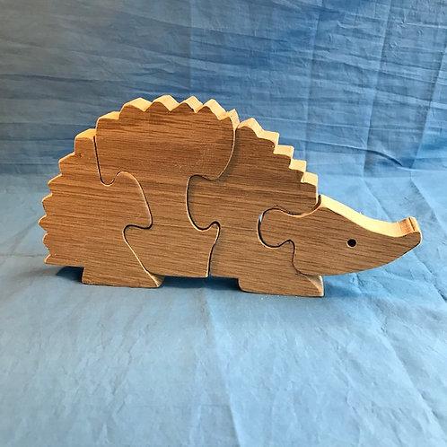 Hardwood Hedgehog Puzzle