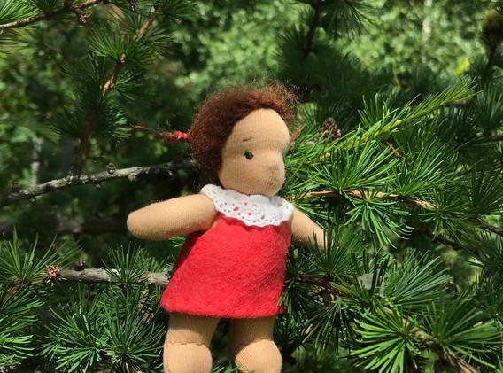 Кукла-крошка. Mini Doll