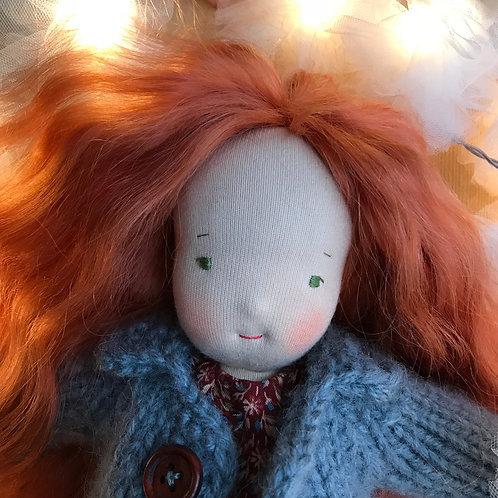 Длинноволосая Рыжая Девочка