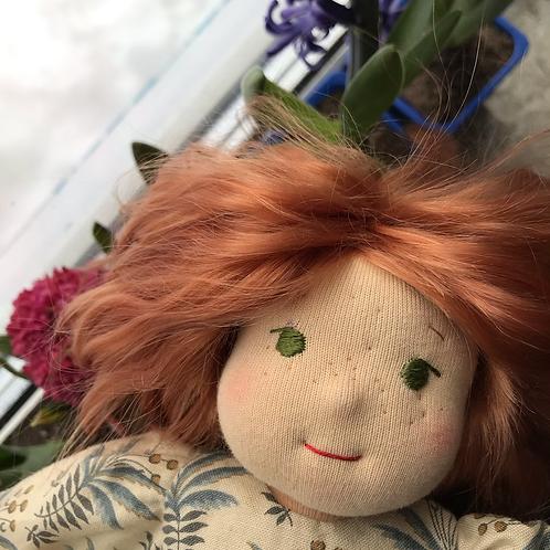 Рыжая Девочка с веснушками.