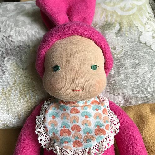 Мягкий Пупс Розовый Третий