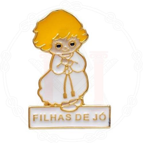 PIN FILHAS DE JÓ LOIRA - COM ESCRITA