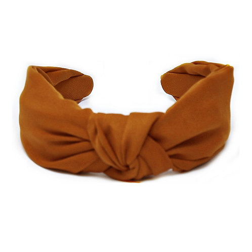 Burnt Orange Front Knot Headband