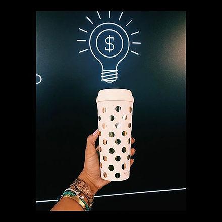 Coffee= bright ideas and bright ideas le