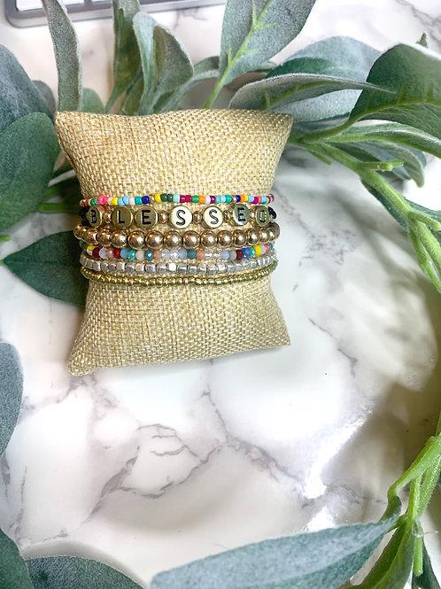 Blessed Beaded Bracelets