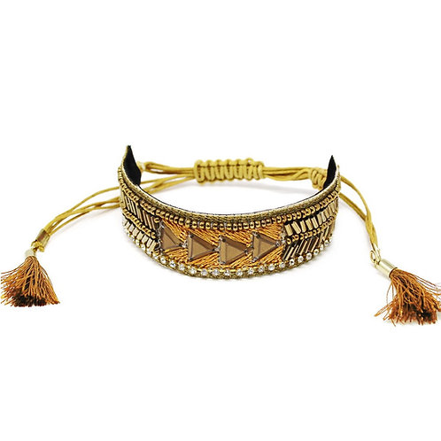 ChouChou Beaded Embroidered Bracelet
